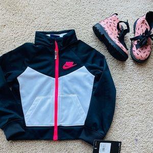 Nike track jacket  zip up